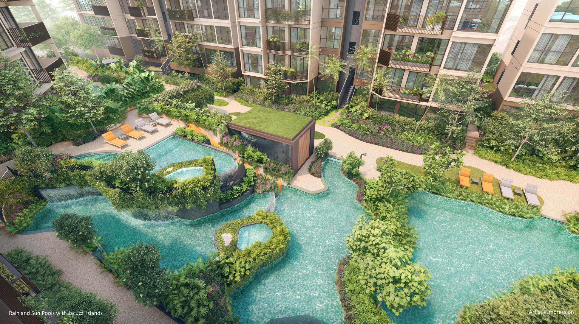 the-watergardens-at-canberra-by-UOL-Rain-and-Sun-Pools-with-Jacuzzi-Islands