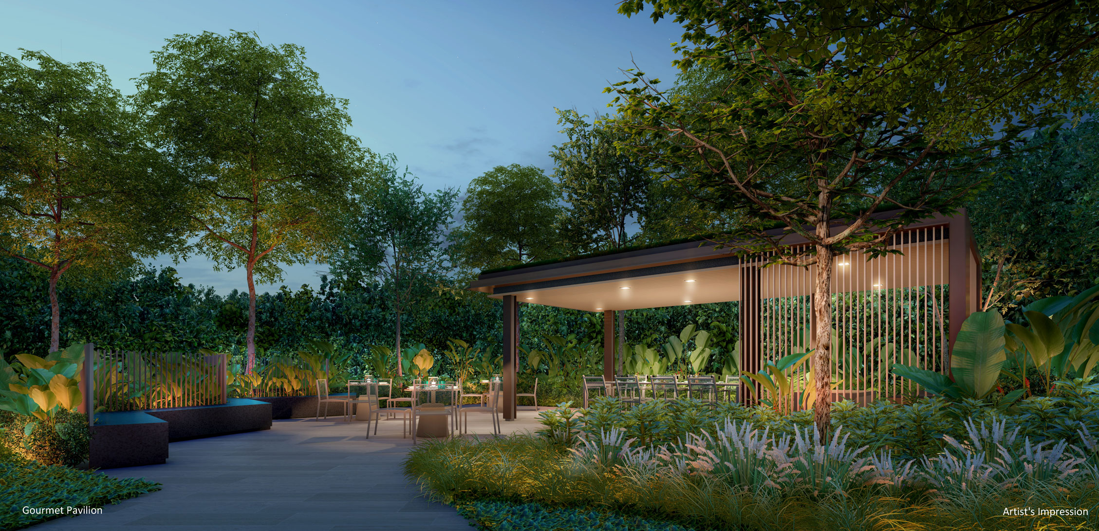 the-watergardens-at-canberra-mrt-Gourmet-Pavilion-singapore