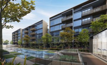 the-watergardens-at-canberra-near-Bukit-Canberra-Integrated-Hub-facade-singapore