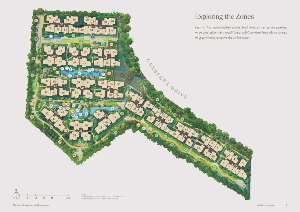 the-watergardens-at-canberra-site-plan-by-UOL-singapore
